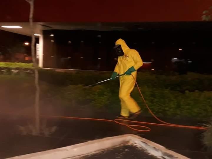 Prefeitura de Osório realiza higienização na cidade
