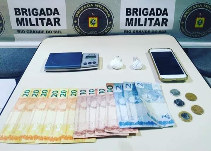 Foragido é preso com drogas em Capão da Canoa