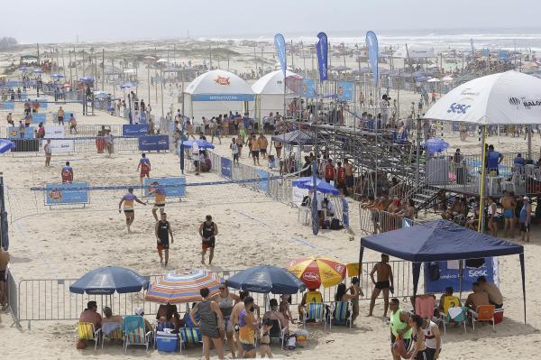 Atletas de Capão da Canoa e Cidreira conquistam pódio na final do 18º Circuito Verão Sesc de Esportes