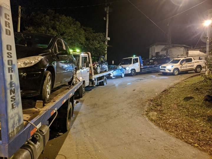 BM enquadra 17 pessoas por violação de medida sanitária em Osório