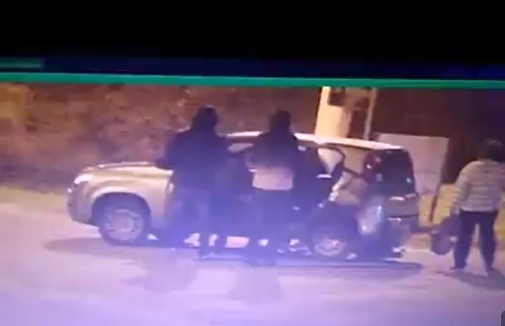 Câmeras de vídeomonitoramento flagram roubo de carro em Imbé